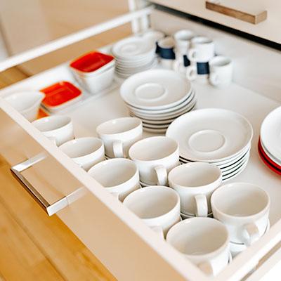 Ausgestattete Teeküche